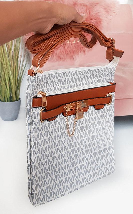 Jamie Patterned Shoulder Bag