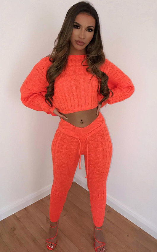 Jasmen Cable Knit Lounge Co-ord