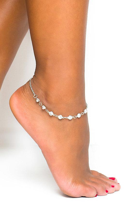 Jasmin Diamante Anklet