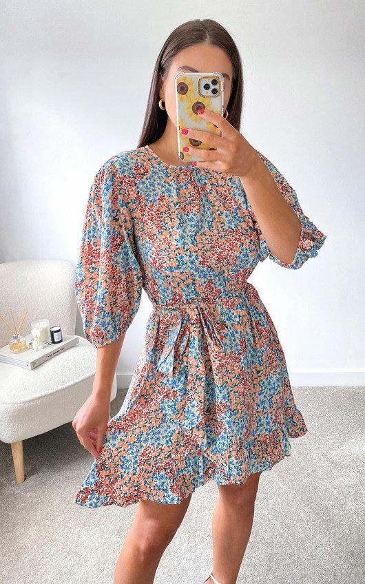 Jasmina Puff Sleeve Dress
