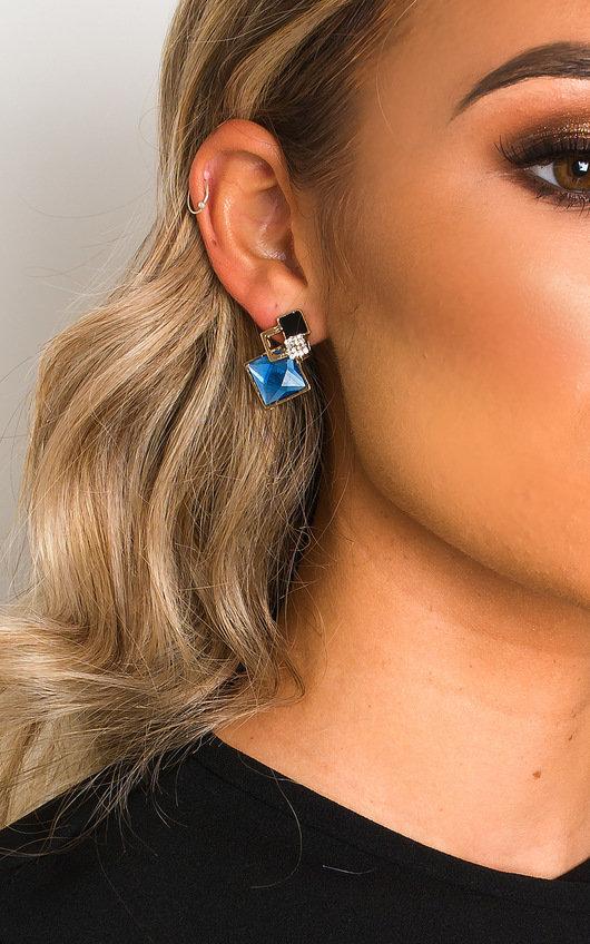 Jasmine Geometric Stud Earrings