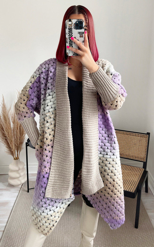 Jazzi Chunky Knitted Cardigan