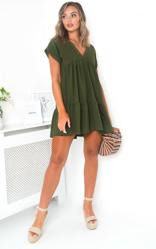 Jemma Layered Shift Dress