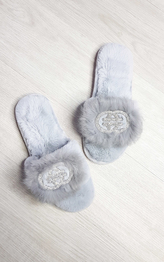 Jen Faux Fur Slippers