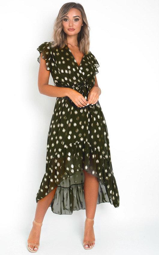Jen Polka Dot Maxi Dress