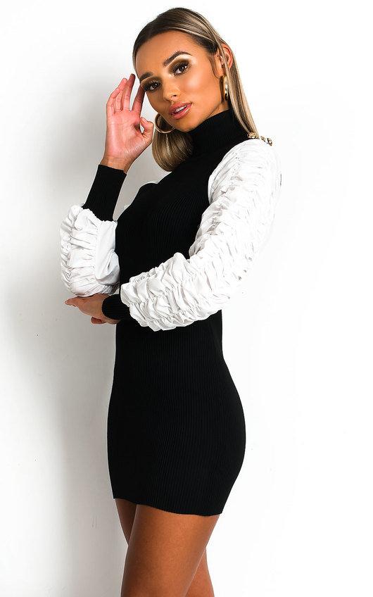 Jenelle Ribbed Jumper Dress