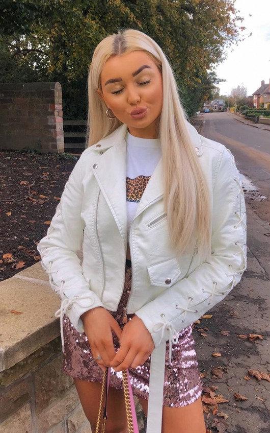 Jenni Faux Leather Jacket