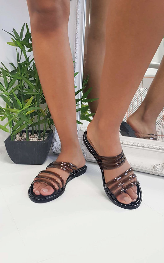 Jenni Strappy Jelly Sandals
