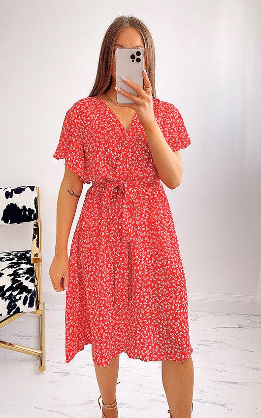 Jenny Floral Midi Dress