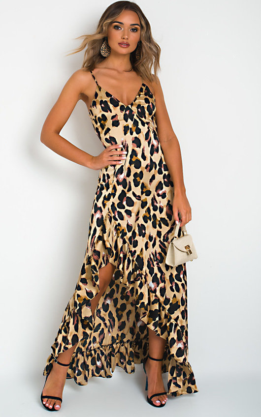 Jessica Printed Maxi Dress