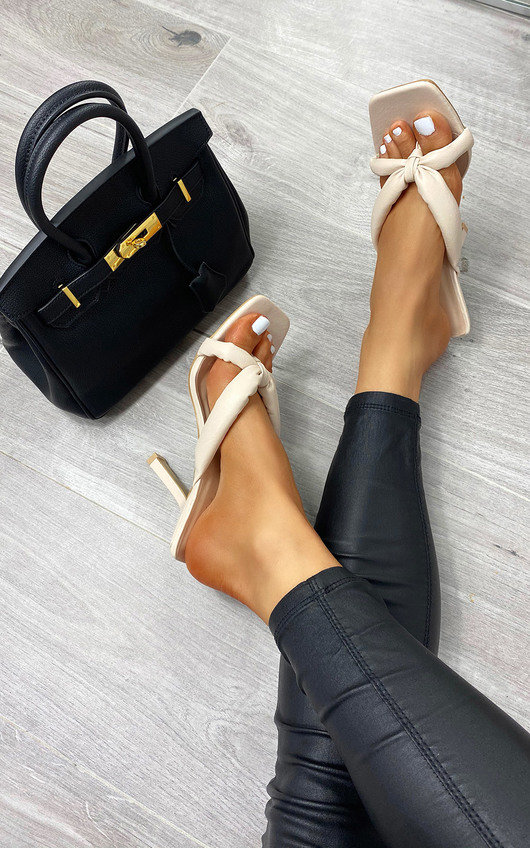 Jessica Toe Post Strappy Heels