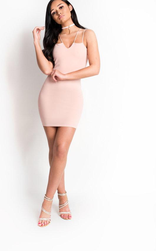 Jessie Strappy Bodycon Mini Dress