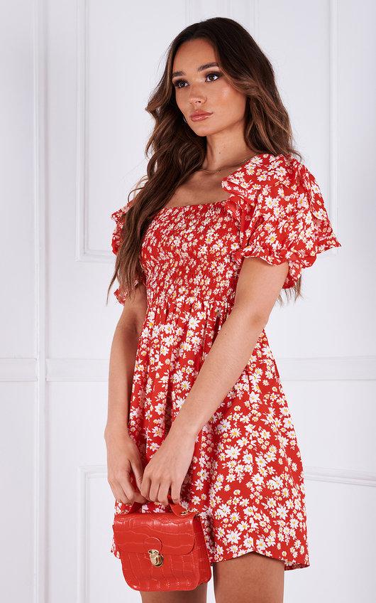 Jojo Floral Mini Dress