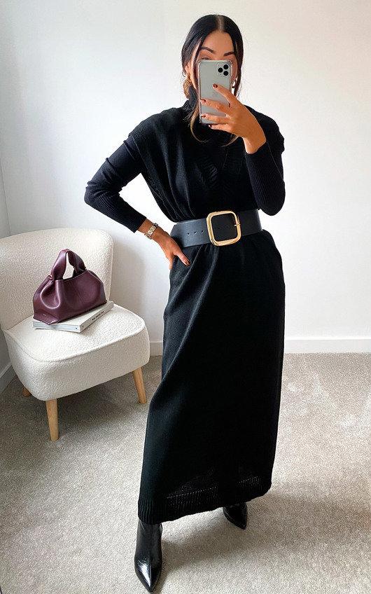 Josie Longline Knitted Vest