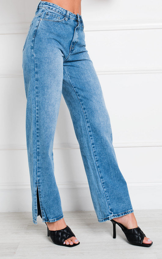 Joslin High Waist Wide Leg Jeans