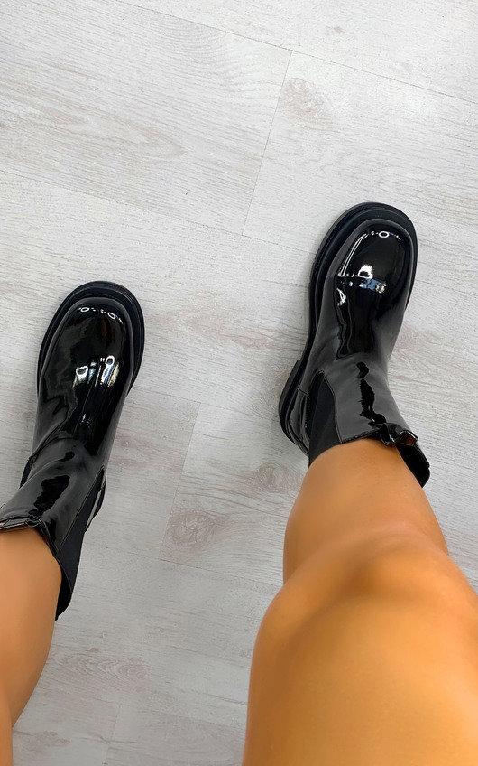 Joslin Patent Long Boots