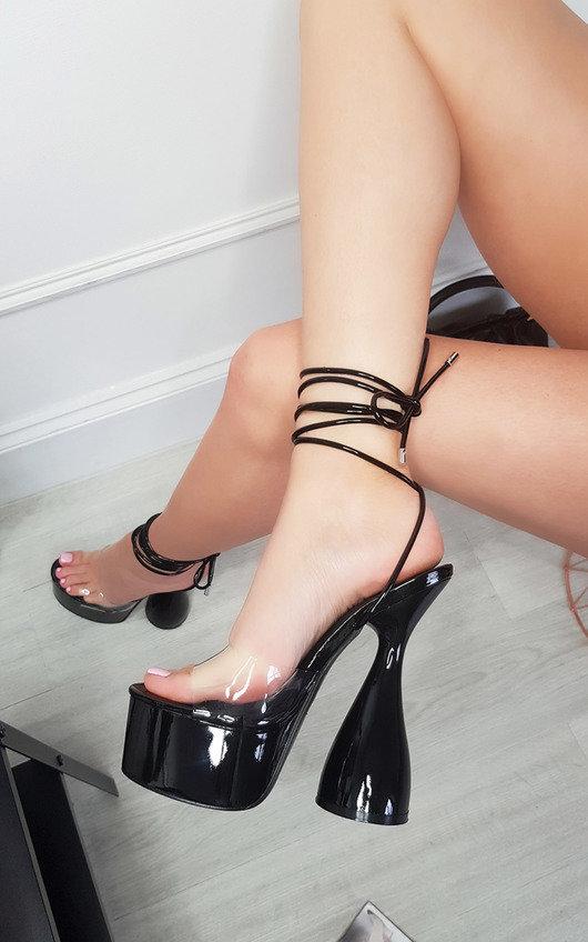 Julia Extreme Platform Strappy High Heels