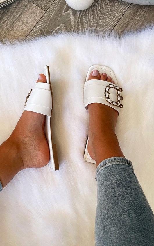 Juliette Chain Detail Sandals