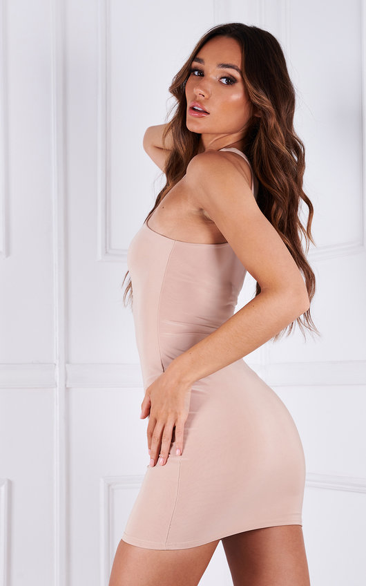 Juliette Racer Neck Mini Dress