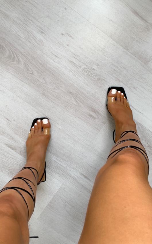 Julz Lace Up Heels