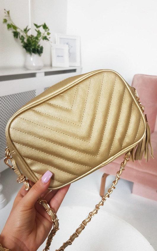 June Gold Chain Shoulder Bag