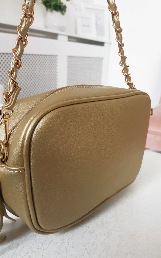 June Gold Chain Shoulder Bag