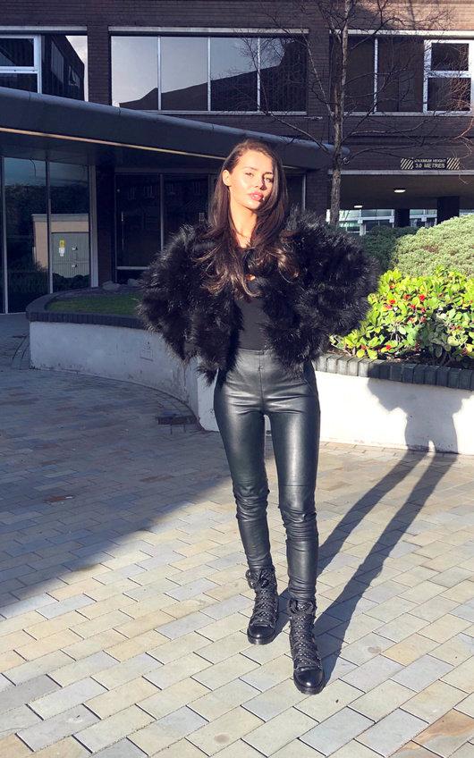 Kara Faux Fur Jacket