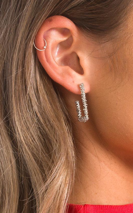Karah Square Mini Drop Earrings