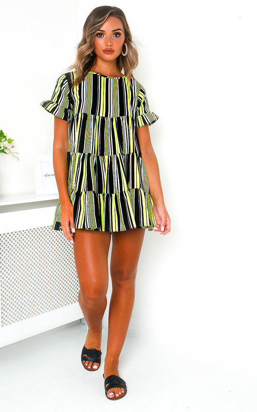 Karla Frill Shift Dress