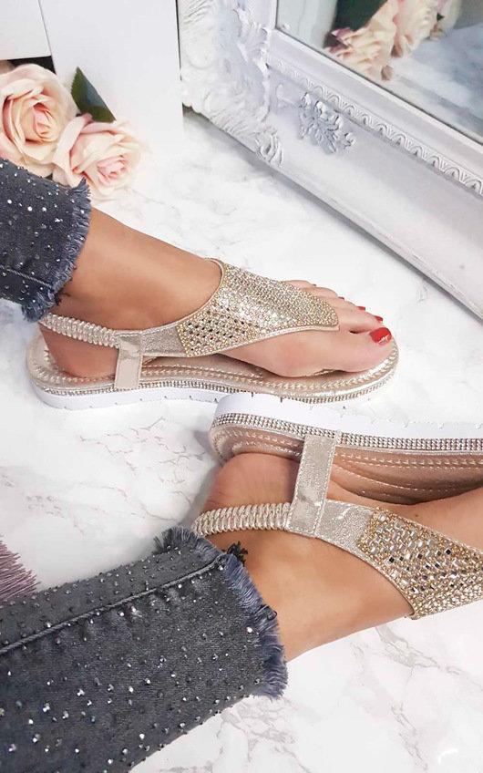 Karley Embellished Sandals