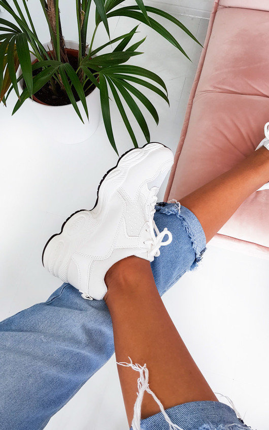Kasey Chunky Mesh Trainers