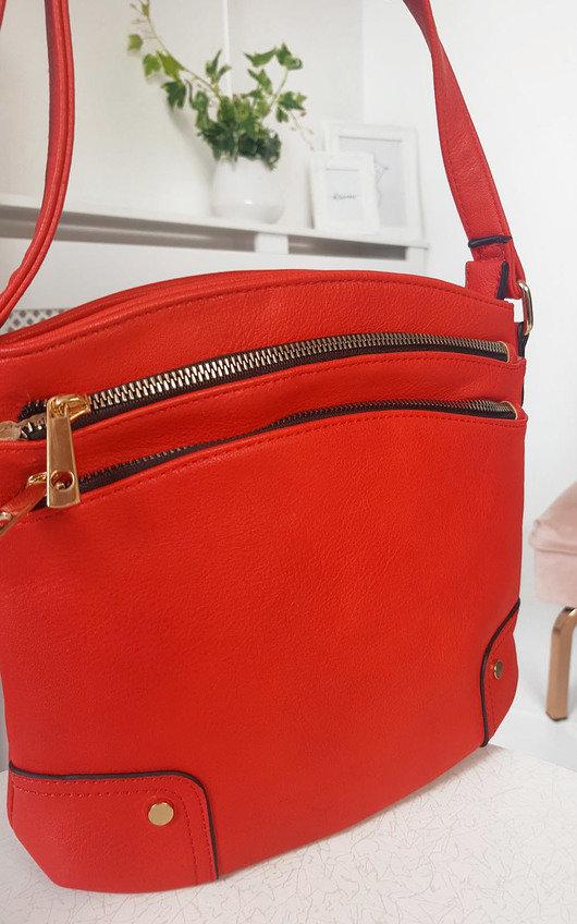 Kathy Gold Detail Cross Body Bag