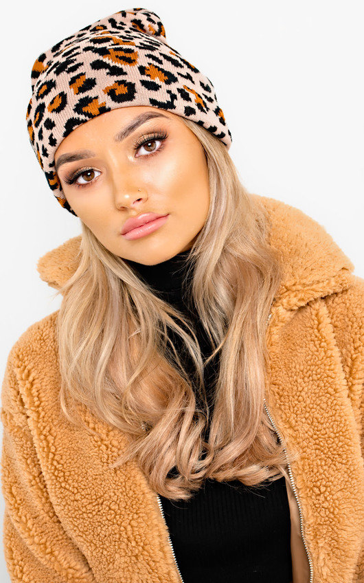 Katia Woven Knitted Beanie Hat