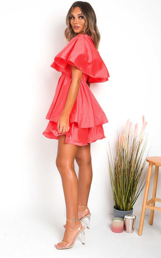 Kaya Layered Frill Mini Dress
