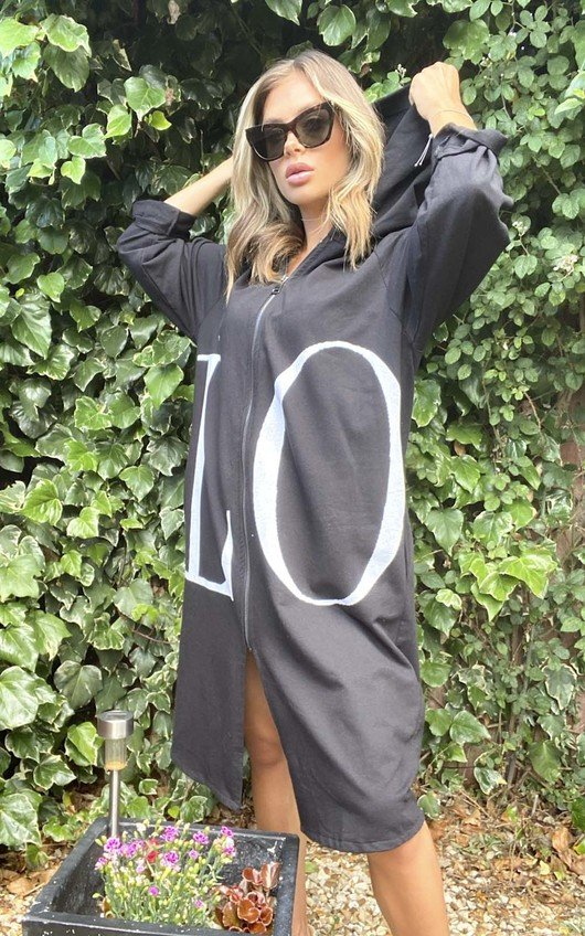 Kaya Love Oversized Jumper Dress
