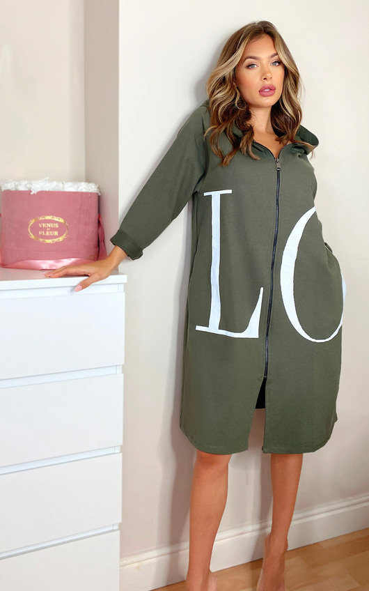 Kaya Love Oversized Jumper Dress