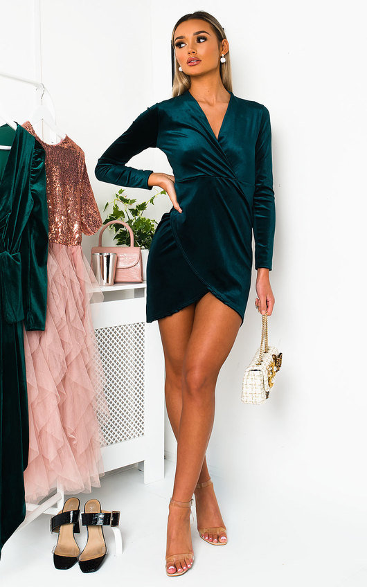 Kaya Velvet Mini Dress