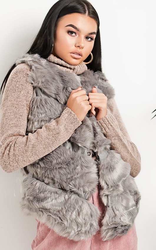 Kayleigh Faux Fur Gilet