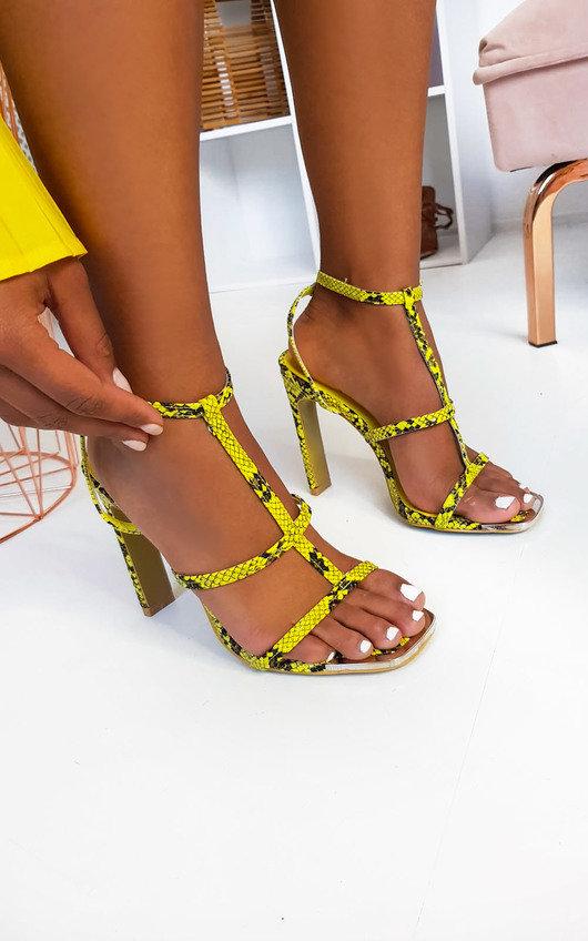 Keisha Strappy High Heels
