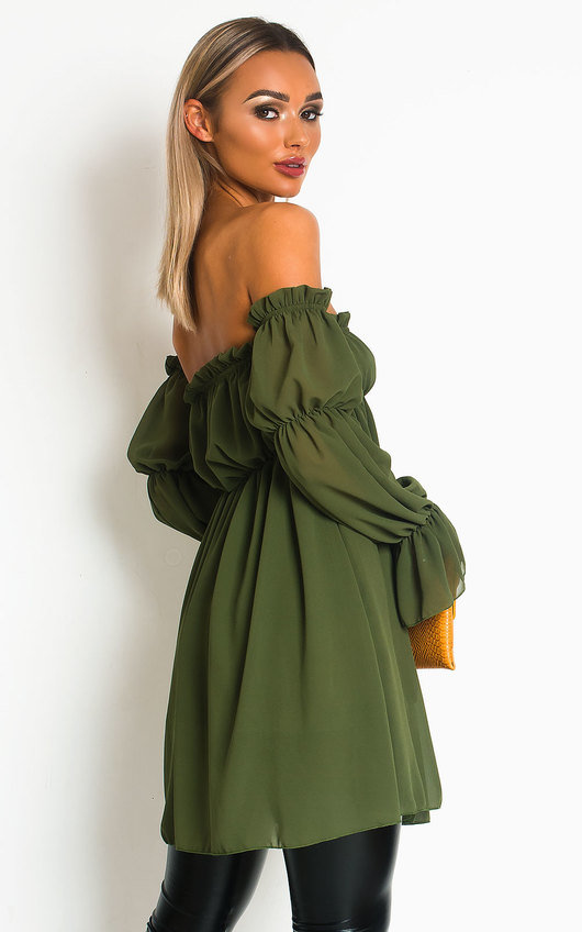 Kelly Off Shoulder Long Top