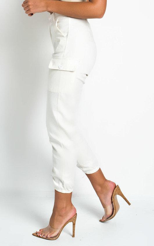 Kelsie Cuffed Cargo Trousers