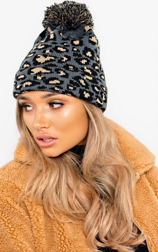Kenny Woven Knitted Beanie Hat