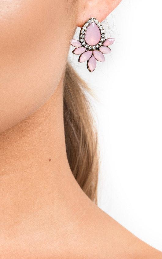 Kerrie Diamante Drop Earrings