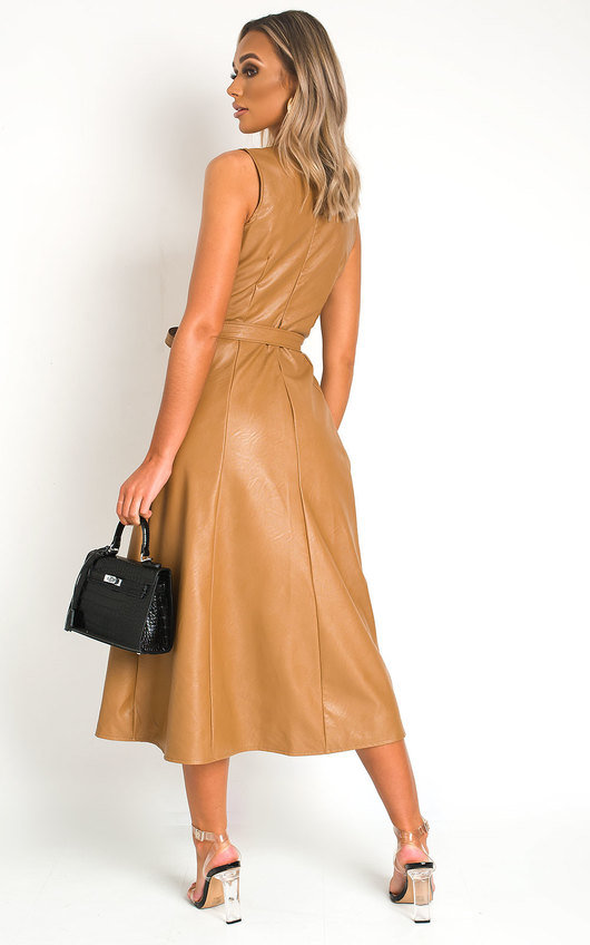 Khaleesi Faux Leather Dress