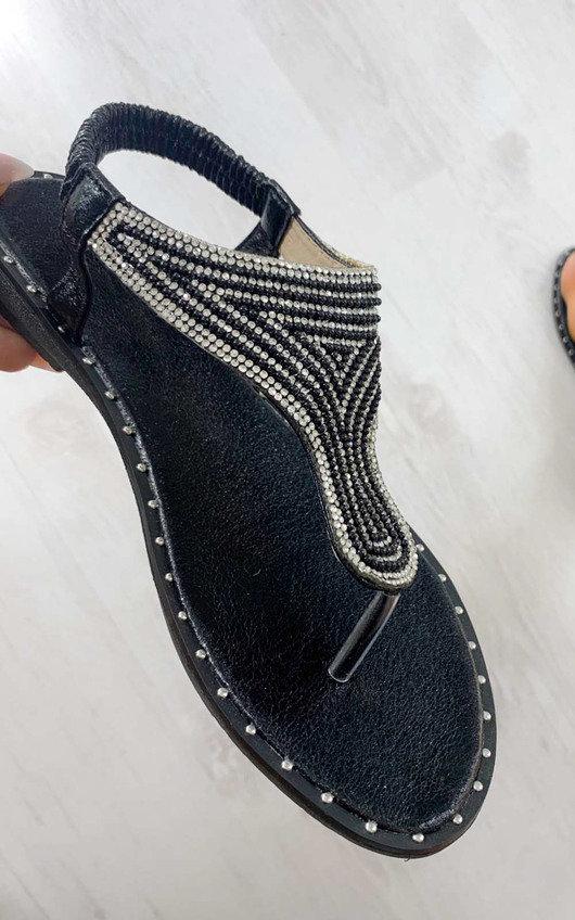 Khloe Diamante Embellished Sandals