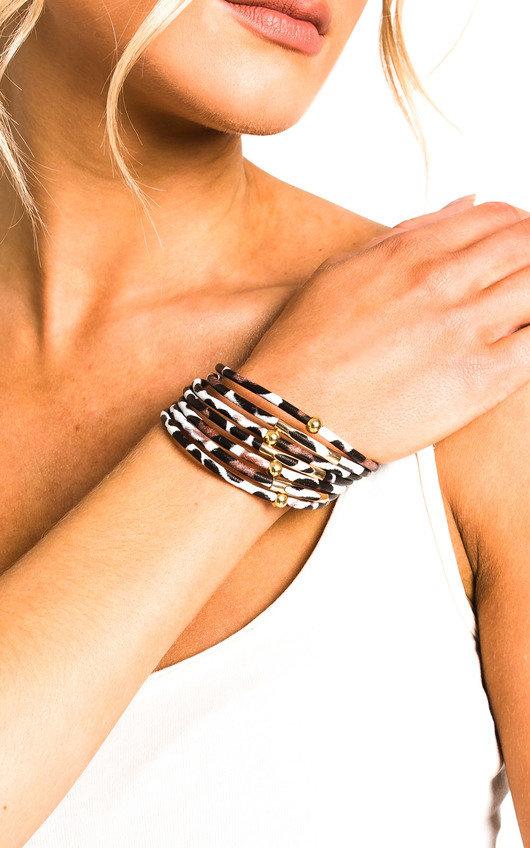Kiki Leopard Print Bracelet