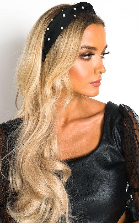 Kim Pearl & Bead Embellished Hairband