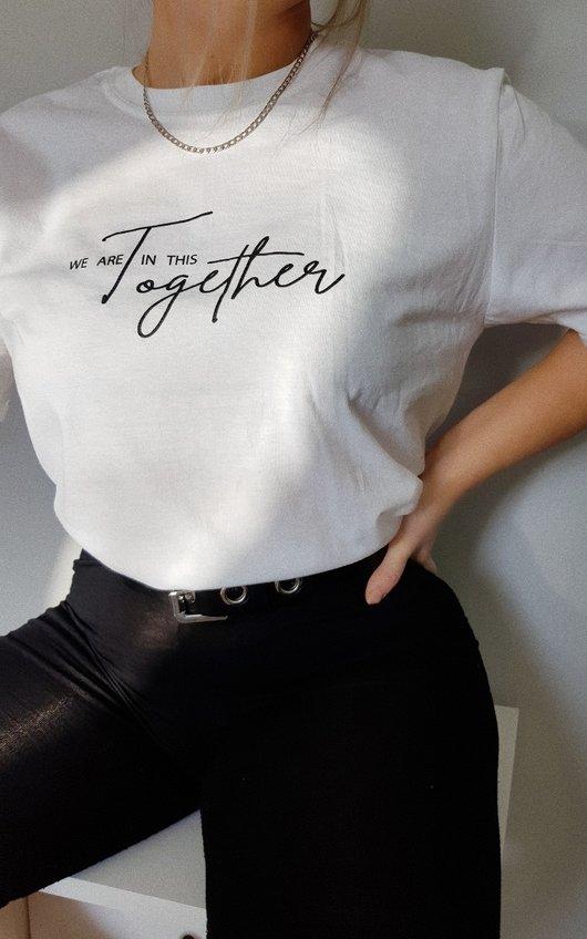 Kim Slogan T-Shirt