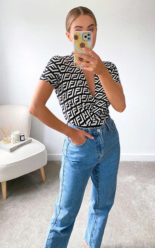 Kimmy Printed Bodysuit