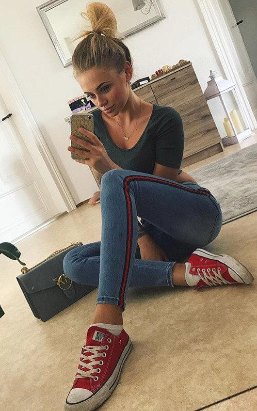 Kirt Mid Rise Skinny Jeans